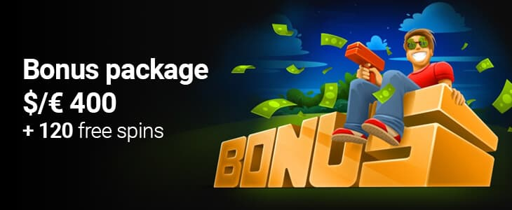 CasinoChan Welcome Bonus Package